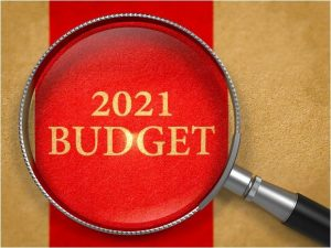 What did the 2021 March budget bring for landlords?